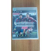 Winning Eleven 2010 Japones Novo Lacrado