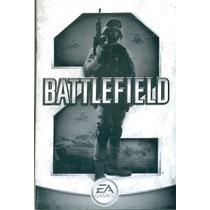 Somente Manual Original Em Portugues Game Battlefield 2