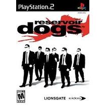 Reservoir Dogs Ps2 Patch Com Capa E Impressão