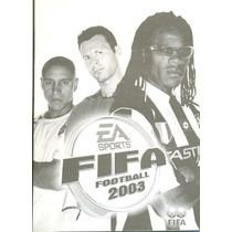 Somente Manual Original Em Portugues Game Fifa Football 2003
