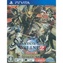 Phantasy Star Online 2 Episode 2 Deluxe Package Psvita