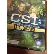 Jogo Para Pc Csi: Crime Scene Investigation Fatal Conspiracy
