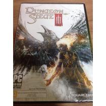 Jogo Para Pc Dungeon Siege 3 Iii Pt-br Novo E Lacrado