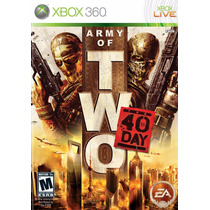 Army Of Two The 40th Day Xbox 360 Original Completo