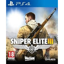 Sniper Elite 3 Ps4 Psn, Aluguel Original 1, Por 6 Meses