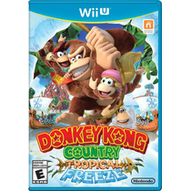 Donkey Kong Country Tropical Freeze Wii U Pronta Entrega