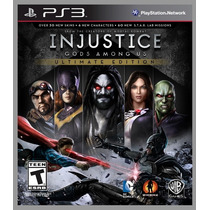 Injustice Gods Among Us Ultimate Edition Ps3 - Portugues Br