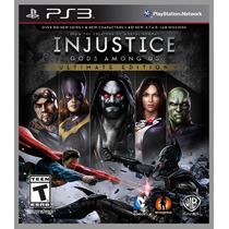 Injustice Gods Among Us Ultimate Edition Ps3 Português - Br