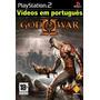 Deus Da Guerra 1 E 2 Português - Jogos Ps2 - Games Patch