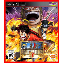 One Piece Pirate Warriors 3 Ps3 Psn Portugues Br
