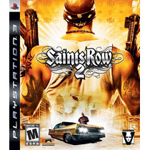 Jogo Ps3 - Game Original - Saints Rows 2