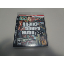 Grand Theft Auto Iv Gta Original Americano De Playstation 3