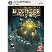 Bioshock 2 - Pc Dvd Box - Original E Lacrado - Joga On Line