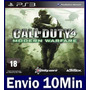 Call Of Duty 4 Modern Warfare Cod Mídia Digital Ps3 Psn