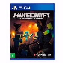 Jogo Minecraft Para Playstation 4 Ps4 Play 4 Novo Original