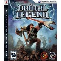 Brutal Legend. Novo. Ps3.