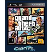 Gta 5 V Grand Theft Auto V Legendado Pt Br Ps3 Entrego Agora