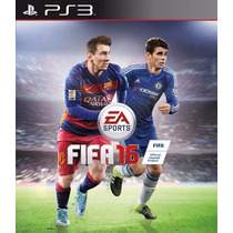 Jogo Fifa 16 Playstation 3 Midia Fisica Português Ps3
