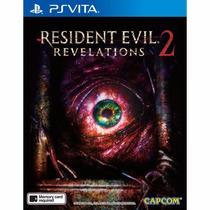 Resident Evil Revelation 2 Portugues Psvita Ps Vita E-sedex