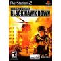 Delta Force Black Hawk Down Ps2 Patch - Compre 1 E Leve 2