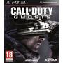 Call Of Duty Ghosts Ps3 Br- Em Mãos Em Sp Ou Frete 10 Reais