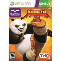 Kung Fu Panda 2 Kinect Xbox 360 Original Lacrado A6442