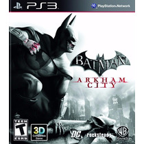 Jogo Batman Arkham City Para Ps3 /semi Novo/ Barato!!!!