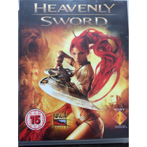Heavenly Sword - Ps3 - Mega Promocao