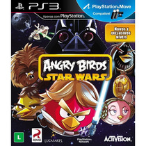 Angry Birds Star Wars Ps3 Original Lacrado Em Português!