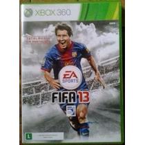 Jogo Fifa 13 Jogo Fa Em Português Ntsc Original Xbox 360