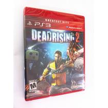 Dead Rising 2 - Ps 3 - Lacrado - Americano