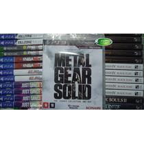 Metal Gear Solid The Legacy Collection Ps3 Novo Lacrado Br !