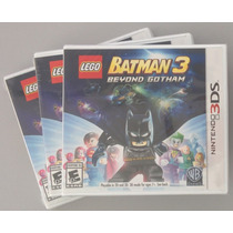 Lego Batman 3 Beyond Gotham Nintendo 3ds E 2ds Frete Grátis