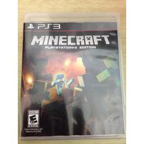 Jogo Minecraft Para Ps3 - Novo E Lacrado - Midia Fisica
