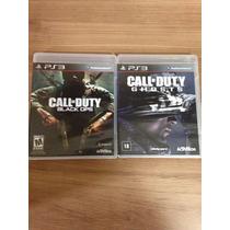 Call Of Duty Ghosts + Call Of Duty Black Ops Novo E Lacrado