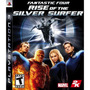 Fantastic Rise Of The Silver Surfer Ps3 Dvd Zero Completo.