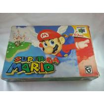 Super Mario 64 Nintendo 64 Completo Original Gravando N64