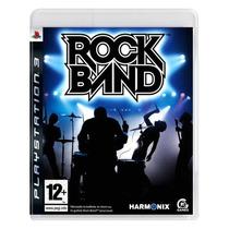 Rock Band - Ps3 - Americano - Raridade