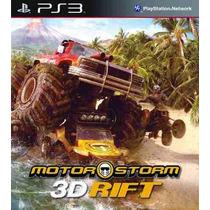 Motorstorm 3d Rift Ps3 Original (código Psn) Rafa Gamer!
