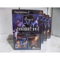 Resident Evil The Essentials Ps2 - Novo Lacrado - Oferta