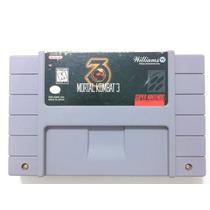 Cartucho Super Nintendo - Mortal Kombat Iii 3 Americano
