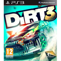 Dirt 3 Playstation 3 , Codigo Psn !!!