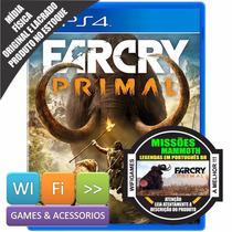 Farcry Primal Ps4 Pt Br Mídia Física Original Lacrado