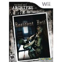 Resident Evil Archives Remake - Nintendo Wii - Novo Lacrado