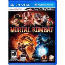 Mortal Kombat Ps Vita Psvita Lacrado Original E-sedex 6,07