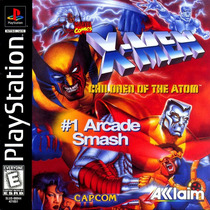 X-men - Children Of The Atom - Playstation 1 - Frete Gratis.