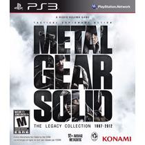 Metal Gear Solid The Legacy Collection Ps3 Lacrado