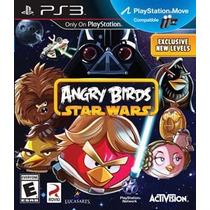 Jogo Ps3 - Angry Birds Star Wars (lacrado/leia!)