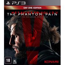Metal Gear Solid V The Phantom Pain Ps3 Mídia Física Pré-ven