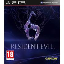 Resident Evil 6 Ps3 - Mídia Digital